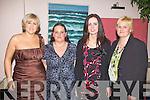 Ladies enjoying the St Michales/Foilmore Social at the Waterville Lake Hotel on Saturday were l-r; Michelle O'Shea, June O'Mahony, Gerldine O'Sullivan & Caroline O'Sullivan.