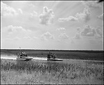 Summer 2006. Every year the Airboat Association of Florida has it's annual airboat picnic in the south side of the Tamiami Trail also known as US 41. Airboaters from all over the state come to enjoy the good weather, bbq, raffles, skeet shooting, grease pole and of course some racing.