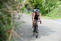20180501 - DOORNIK , BELGIUM : Triathletes Team Tribe pictured during The Belgian Championship Team Triathlon Man and Women , a Team Triathlon in Doornik , Tuesday 1 st May 2018 , PHOTO SPORTPIX.BE | STIJN AUDOOREN