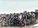 Iraq 1985 <br />  After the battle of Daban, a group of peshmergas posing for the photo in Sergalou , sitten left Mullazem Omar Abdallah  <br /> Irak 1985 <br /> Apres la bataille de Daban, un groupe de peshmergas pose pour la photo a Sergalou, assis a gauche Mullazem Omar Abdallah