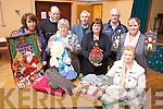 A COLOURFUL DAY OUT: Getting ready for their annual Christmas Craft Fair in Ballyduff Community Centre on November 11th were: Marie Williams, Kitty Diggin, Betty Guerin, Liz Browne and Eilish O'Callaghan. Back l-r were: Tom Joe O'Carroll, Gabriel Browne and Richard O'Callaghan.