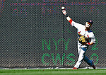 29 August 2010: St. Louis Cardinals outfielder Skip Schumaker in action against the Washington Nationals at Nationals Park in Washington, DC. The Nationals defeated the Cards 4-2 to take the final game of their 4-game series. Mandatory Credit: Ed Wolfstein Photo