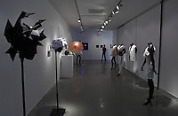 Surface to Structure origami exhibition at Cooper Union, New York. Gallery view. Origami in fashion design.