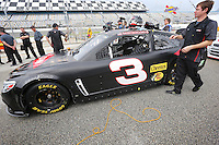 #3 Chevy of Austin Dillon at NASCAR Sprint Cup Pre-Season Thunder testing, January 2014.  (Photo by Brian Cleary/ www.bcpix.com )