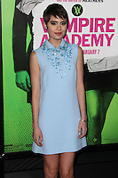 """LOS ANGELES, CA - FEBRUARY 04: Sami Gayle at the Los Angeles Premiere Of The Weinstein Company's """"Vampire Academy"""" held at Regal Cinemas L.A. Live on February 4, 2014 in Los Angeles, California. (Photo by Xavier Collin/Celebrity Monitor)"""
