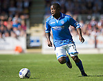 St Johnstone FC Season 2013-14<br /> Nigel Hasselbaink<br /> Picture by Graeme Hart.<br /> Copyright Perthshire Picture Agency<br /> Tel: 01738 623350  Mobile: 07990 594431