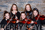 Sadbh Coleman Firies, Kate Hickey Keel, Lily Courtney Fossa, Alice O'Connell Tralee and Eabha Glenflesk who played at the Joy to the World-A Christmas Reflection concert in St Marys Cathedral on Friday night
