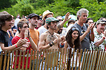 The audience at the 2011 Appel Farms Arts & Music Festival.