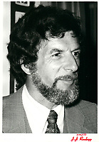 Rodrigue BIRON, chef de l'Union nationale a la tribune du Cercle canadien de Montreal, le 15 janvier 1978, a l'Hotel Windsor<br /> <br /> <br /> PHOTO :  Agence Quebec Presse