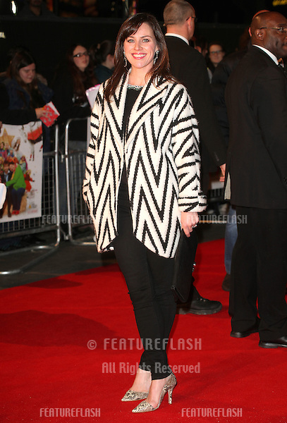 Jenny Halfpenny arriving for the Nativity 2: Danger In The Manger Premiere, at Empire Leicester Square, London. 13/11/2012 Picture by: Alexandra Glen / Featureflash