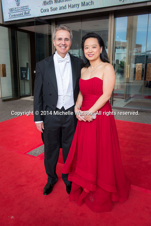 Houston Symphony Centennial Ball at Jones Hall with special guest, Glee's Matthew Morrison