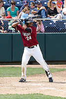 July 6, 2008: The Yakima Bears' Alfredo Marte at-bat during a Northwest League game against the Everett AquaSox at Everett Memorial Stadium in Everett, Washington.
