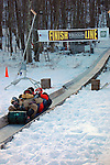 24th Annual US National Toboggan Championships, Camden Snow Bowl, Camden, Maine, USA