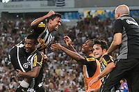RIO DE JANEIRO, RJ, 05.02.2014 -  do Botafogo durante o jogo desta noite pela Libertadores contra Deportivo Quito no Estádio Mário Filho, o Maracanã. (Foto. Néstor J. Beremblum / Brazil Photo Press)