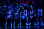 DALLAS, TX - MARCH 31: The University of Connecticut watches introductions during the 2017 Women's Final Four at American Airlines Center on March 31, 2017 in Dallas, Texas. (Photo by Justin Tafoya/NCAA Photos via Getty Images)