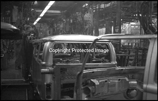 BNPS.co.uk (01202 558833)<br /> Pic: Danbury/BNPS<br /> <br /> ****Please use full byline****<br /> <br /> The old VW factory.<br /> <br /> The last ever delivery of brand new Volkswagen campervans has arrived in Britain marking the end of an era for the iconic 'hippy bus'.<br /> <br /> Ninety nine of the final batch of vans rolled off the production line and onto a container ship bound for British shores after manufacture ceased for good in Brazil in December.<br /> <br /> And though the consignment has only just arrived, almost all of the vans have already been snapped up by eager buyers happy to fork out the £35,000 starting price.<br /> <br /> They are the last brand new campers in all of Europe.