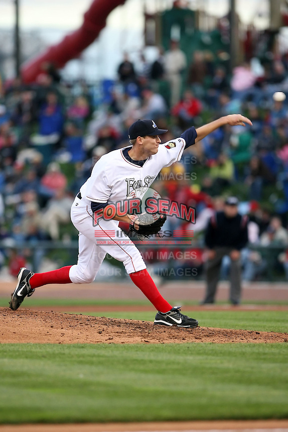 June 17th 2008:  Jon Kibler of the West Michigan Whitecaps, Class-A affiliate of the Detroit Tigers, during the Midwest League All-Star Game at Dow Diamond in Midland, MI.  Photo by:  Mike Janes/Four Seam Images