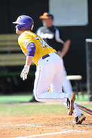 Blake Dean #34 of the LSU Tigers at Lindsey Nelson Stadium in game against Tennessee Volunteers in Knoxville, TN March 27, 2010 (Photo by Tony Farlow/Four Seam Images)