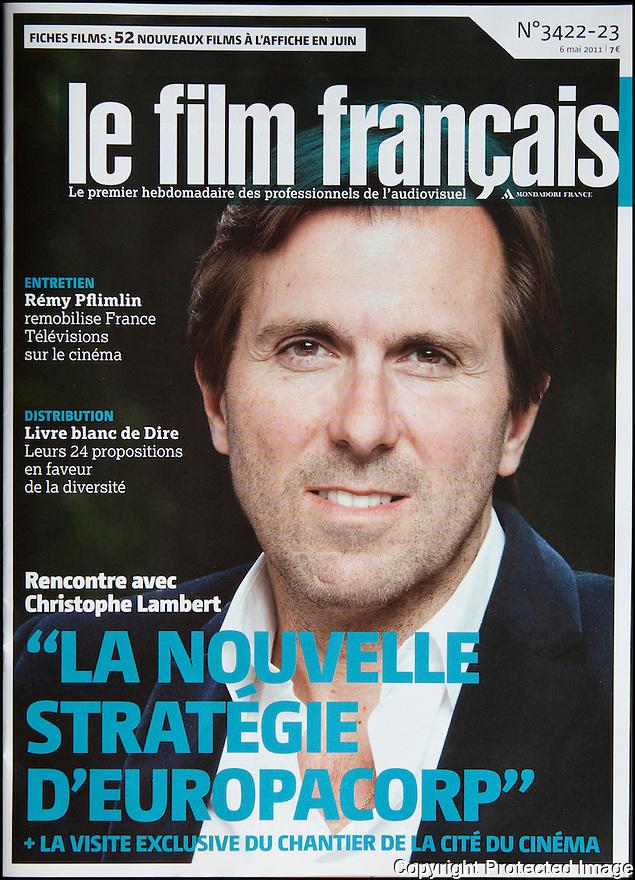 Presse<br /> Le film Fran&ccedil;ais<br /> Christophe Lambert.<br /> Directeur g&eacute;n&eacute;ral de EUROPACORP