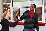 - Guiding Light's actors meet fans at Stacy Jo's Ice Cream in McKees Rocks, PA on September 30, 2009. During the weekend of events proceeds from pink ribbon bagel sales at various Panera Bread locations will benefit the Young Women's Breast Cancer Awareness Foundation. (Photo by Sue Coflin/Max Photos)