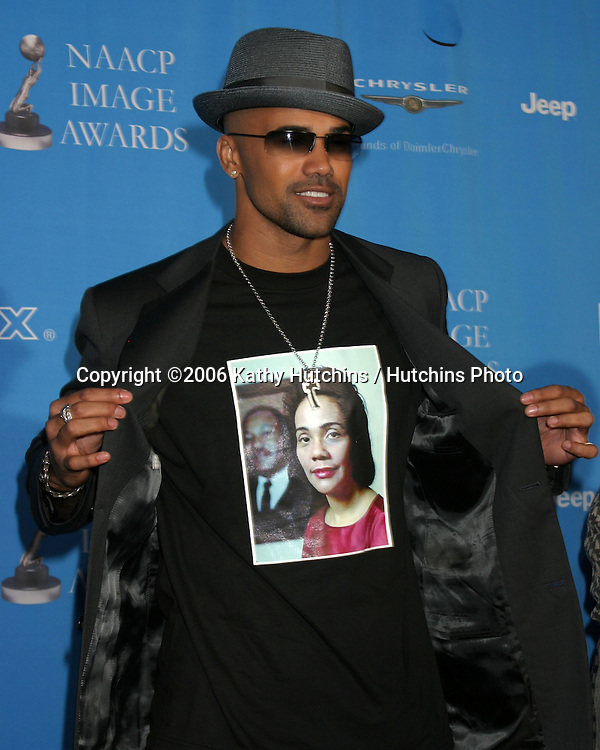 Shemar Moore.37th NAACP Image Awards.Shrine Auditorium.Los Angeles, CA.February 25, 2006.©2006 Kathy Hutchins / Hutchins Photo....