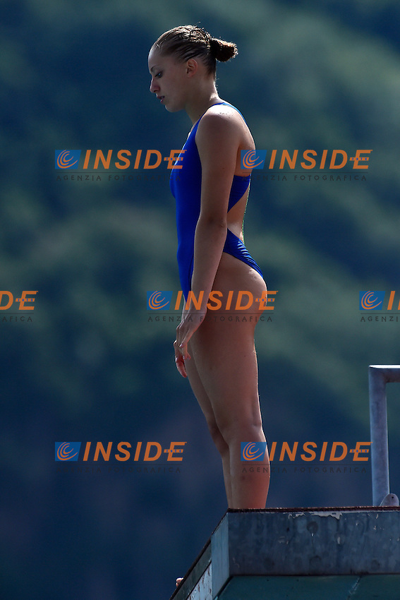 BELSASSO Giulia ITA <br /> Platform women Preliminary - Piattaforma Donne <br /> Bolzano 01-08-2014 <br /> 20 Fina Diving Grand Prix <br /> Photo Andrea Staccioli/Insidefoto