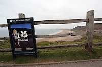 2014 03 17 Rhossili beach, Gower voted in ten best in the world