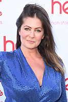 Lucy Horobin<br /> arriving for the launch of new radio station Heart Dance at Global Radio, Leicester Square, London<br /> <br /> ©Ash Knotek  D3513  02/07/2019