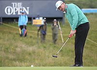 Edouard Espana (FRA) during Round One of the 148th Open Championship, Royal Portrush Golf Club, Portrush, Antrim, Northern Ireland. 18/07/2019. Picture David Lloyd / Golffile.ie<br /> <br /> All photo usage must carry mandatory copyright credit (© Golffile | David Lloyd)