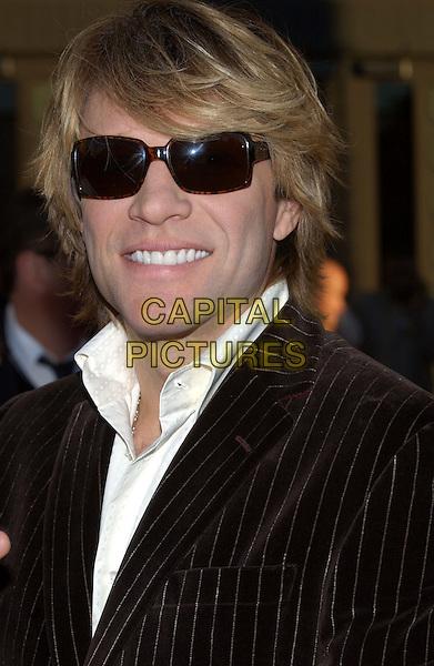 JON BON JOVI.32nd Annual American Music Awards held at the Shrine Auditorium. .14 November 2004.headshot, portrait, sunglasses, shades.www.capitalpictures.com.sales@capitalpictures.com.© Capital Pictures.