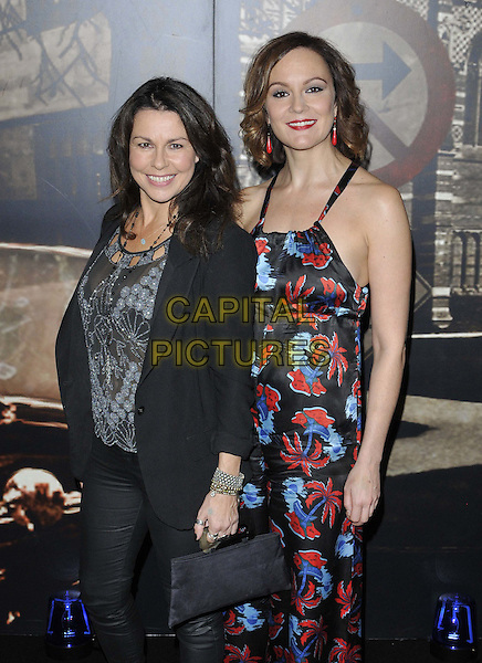 LONDON, ENGLAND - OCTOBER 24: Julie Graham &amp; Rachael Stirling attend the Specsavers Crime Thriller Awards 2014, Grosvenor House Hotel, Park Lane, on Friday October 24, 2014 in London, England, UK. <br /> CAP/CAN<br /> &copy;Can Nguyen/Capital Pictures