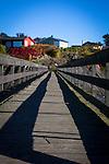Boardwalk, Lindoya, Oslofjord, Norway