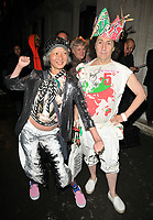 Kamay Lau and Philip Sallon at the LFW s/s 2018 Vin + Omi catwalk show &amp; afterparty, Andaz Liverpool Street Hotel, Liverpool Street, London, England, UK, on Monday 11 September 2017.<br /> CAP/CAN<br /> &copy;CAN/Capital Pictures
