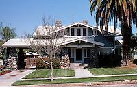 Redlands CA: California Bungalow, 515 Alvarado. Photo '87.