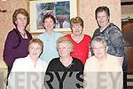 SOCIAL: Enjoying the North Kerry Pioneer Social at Kirbys Lanterns Hotel, Tarbert, on Friday night were, front l-r: Eileen Carrig, Margaret Bradbury and Nora Horan. Back l-r: Maureen James, Liz Kelly, Kitty Kissane and Mary Holland (Tarbert)..