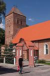 Srokowo, 2009-08-09. Kościół pw. Krzyża Świętego, Srokowo, Mazury