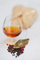 Europe/France/Aquitaine/40/Landes/Dax:  Préparation du foie gras  des Landes à de la Boucherie: Maison Aimé