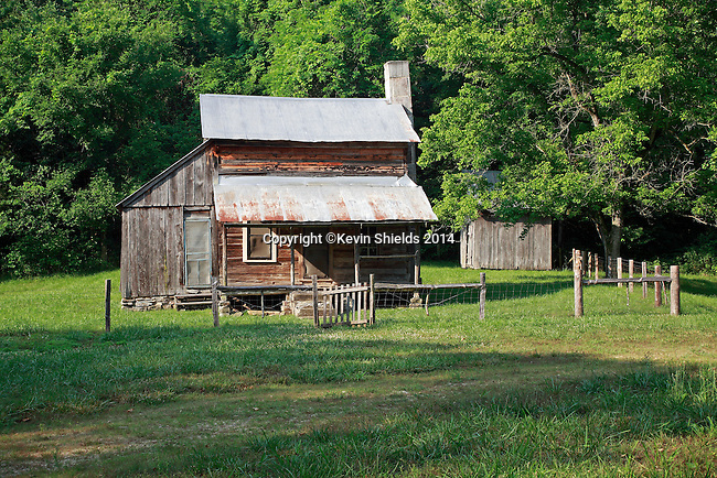 The Parker-Hickman Farmstead (1830's), Buffalo National River, Arkansas, USA