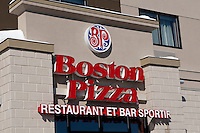 The newest Boston Pizza restaurant in Quebec City is pictured at the corner of Route de l'Aeroport and Boulevard Wilfrid-Hamel February 24, 2009.