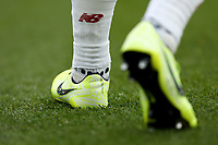 23rd November 2019; Selhurst Park, London, England; English Premier League Football, Crystal Palace versus Liverpool; Alex Oxlade-Chamberlain of Liverpool wears Nike boots ahead of Liverpool's sponsorship move from New Balance - Strictly Editorial Use Only. No use with unauthorized audio, video, data, fixture lists, club/league logos or 'live' services. Online in-match use limited to 120 images, no video emulation. No use in betting, games or single club/league/player publications