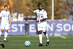 21 October 2012: Northwestern's Lepe Seetane (LES). The Northwestern University Wildcats played the Penn State University Nittany Lions at Lakeside Field in Evanston, Illinois in a 2012 NCAA Division I Men's Soccer game. Penn State won the game 1-0 in golden goal overtime.