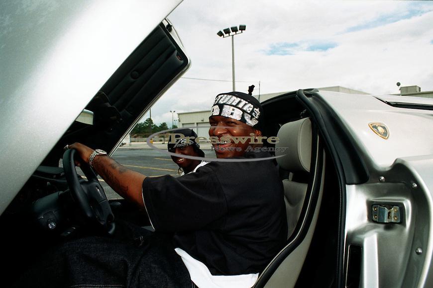 Lil Wayne on the #1 Stunna video shoot in New Orleans on June 17, 2000.  Photo credit:  Presswire News/Elgin Edmonds