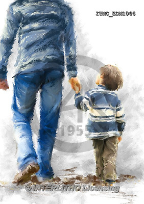 Marcello, MASCULIN, MÄNNLICH, MASCULINO, paintings+++++,ITMCEDM1066,#M# father,son ,everyday