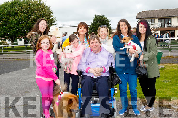 Barking Fun<br /> ----------------<br /> Enjoying the dog show at Ballybeggan race track last Saturday were L-R Faye O'Connor, Deirdre Laffin, Millie O'Brien, Liz O'Gorman, Terry&amp;Teresa O'Brien with Breda&amp;Kasie Fitzgerald.