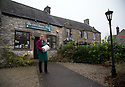 16/12/16<br /> ***WITH PICS***<br /> <br /> <br /> Claire Millner outside The Old Cheese Shop in Hartington where their traditional Blue Stilton is sold.<br /> <br /> More than 1,800 of these traditional Christmas Blue Stilton cheeses have already left Hartington Creamery, in the heart of the Derbyshire Peak District, but with just one more week left before the big day, there are still another 150 of the giant 8kg cheese cylinders to reach maturity and be shipped out in time to partner the post-feast glass of port on December 25th.<br /> <br /> FULL STORY: https://fstoppressblog.wordpress.com/christmas-blue-stilton-from-derbyshire/<br /> <br /> All Rights Reserved: F Stop Press Ltd. +44(0)1773 550665 &nbsp; www.fstoppress.com