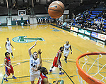 Tulane downs SMU, 75-63, in women's basketball action at Fogelman Arena.