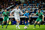 Real Madrid's Walese forward Gareth Bale during the Champions league football match Real Madrid vs Ludogorets at the Santiago Bernabeu stadium in Madrid on december 9, 2014. Samuel de Roman / Photocall3000.