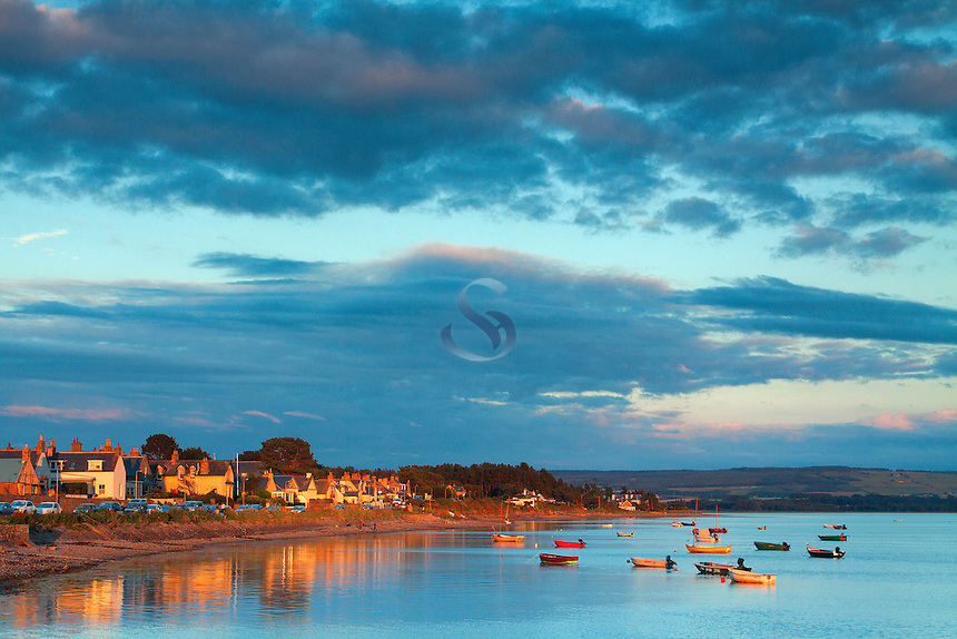 Findhorn Bay at dusk, Moray