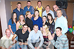 3064-3068.Happy Birthday - Stephen O'Sullivan from Manor, seated centre, having a ball with family and friends at his 30th birthday party held in The Abbey Inn on Saturday night.................................................... ............   Copyright Kerry's Eye 2008