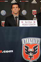 DC United Head Coach Ben Olsen at the presentation of his new position as Head Coach, RFK stadium November 29, 2010.